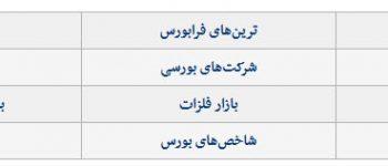 رمزخوانی رکورد بورس پایتخت کشور عزیزمان ایران
