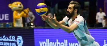 دیدار تیم های والیبال کشور عزیزمان ایران و کره جنوبی